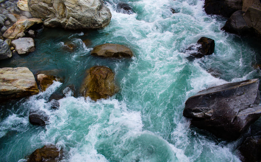 Beauty In Nature Day Flowing Himachal Kasol Kasoldiaries Kasoltrip Motion Nature No People Outdoors Pause Rapid River Rock - Object Scenics Tranquility Travel Destinations Water Waterfall Adapted To The City Miles Away