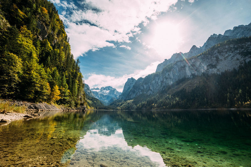 Gosausee, Austria Beauty In Nature Countryside Exploring Forest Geology Hill Lake Landscape Mountain Mountain Range Non-urban Scene Outdoors Physical Geography Remote Scenics Tranquil Scene Tranquility Valley Wanderlust First Eyeem Photo