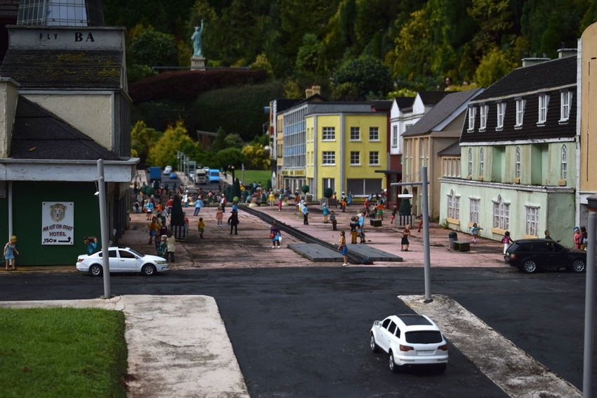 Architecture Cars City Cityscape Houses Tiny Building Exterior Built Structure Day Miniature Model Model Village Outdoors People Small Still Life Street Streetphotography Town