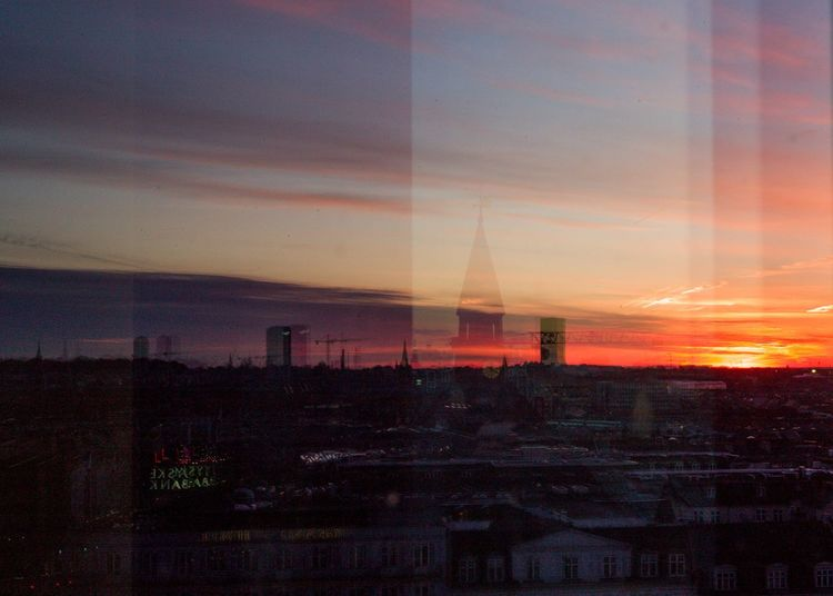 winter sun Sunset Cph Copenhagen