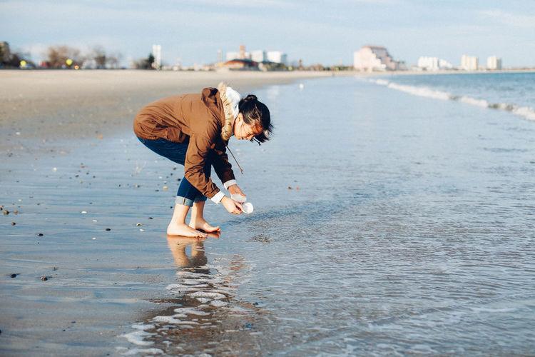 Beach Coastline Golden Hour Lifestyle Ocean Revere Beach Sand Shells Waterfront