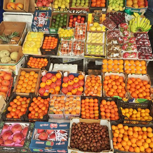 Check This Out Fruit Fruits AssoRted Stall Market Market Stall Trade Variety Various Store Colorful Healthy Food