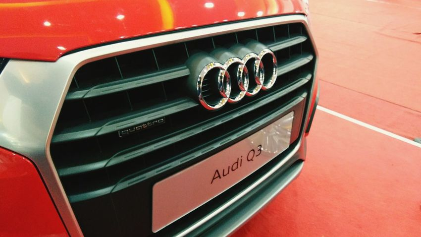 Heartbeat.. Car Red Retro Styled No People Day Audi Q3 Big Boy Toys Weekend Snaps Car Point Of View The Week On EyeEm Scenics Visual Feast EyeEmNewHere EyeEm Selects Landscape_Collection Landscape EyeEm Best ShotsClose-up Vehicle Part Mode Of Transport Landscape_captures Auto Expo Style Class