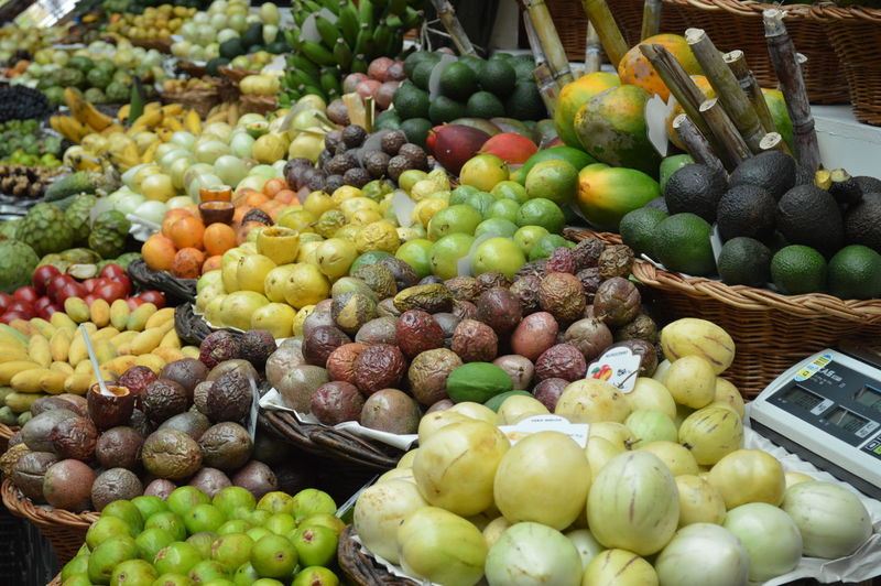 Frutas Funchal Madeira Market Markt Basket Choice Food Food And Drink For Sale Freshness Fruit Fruta Frutas Tropicales Healthy Eating Large Group Of Objects Maracujá Marcado Dos Lavradores Market Market Stall No People Outdoors Retail  Variation