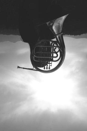 Photo by Ilaria Treppiccioni French Horn Black & White Music Melancholy