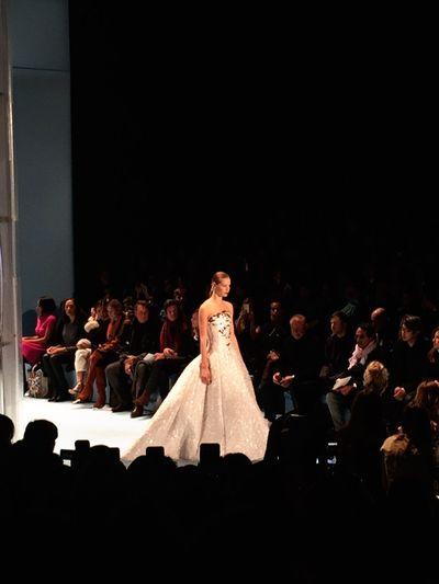 Fashion week nyc 2015 Nycfashion New York Nyfw2015 Carolinaherrera Fashion Automne Nyfw
