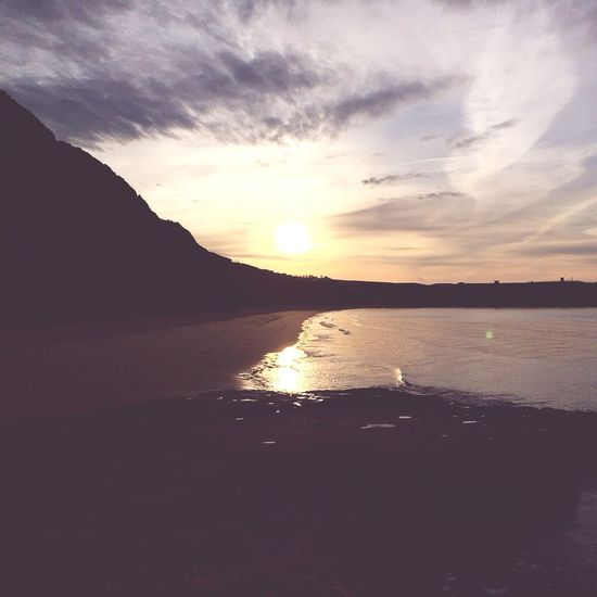 Sunrise in Devon Enjoying Life Hello World Taking Photos Beachphotography