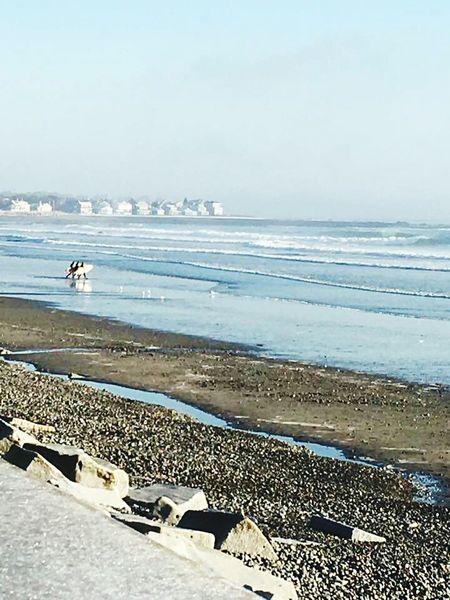 North beach December surf