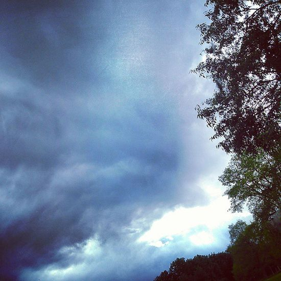 Sky LovinLife Nevergiveup Clouds Trees Storm Outdoors Outside Beautiful
