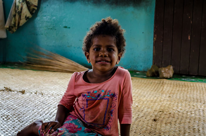 Portrait of a Fijian girl Broom Child Childhood Cute Day Fiji Fijian Girl Happiness Local Culture Looking At Camera Nausori Highlands One Person Pink Portrait Real People Smiling The Portraitist - 2017 EyeEm Awards The Portraitist - 2017 EyeEm Awards