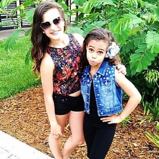 I love this picture of Brooke and Asia