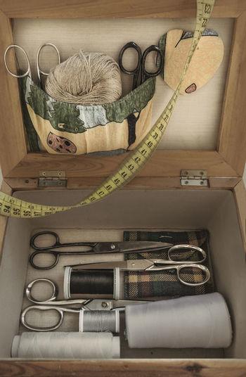 Old sewing kit