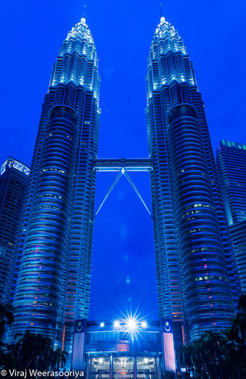KLCC twin towers View Architecture Suria KLCC