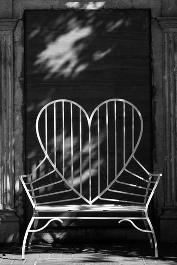 Forest Lawn Heart Shape Love No People Outdoors Close-up Day The Way Forward Fujifilm_xseries Blackandwhite Eyemphotography Straightfromcamera Light And Shadow Backgrounds Lowkeyphotography Tranquility Metallic Available Light Full Length Shadow Sky Focus On Foreground Built Structure Chair Heart 1920s