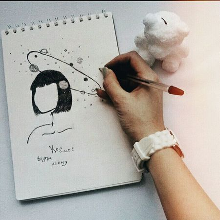 рисунок свеча скетчбук One Person Human Body Part Paper Indoors  Learning People Childhood