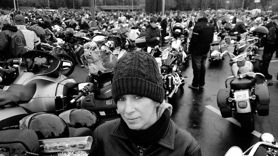Olympia, WA Toy Run 2016 Motorcycle People Day Large Group Of People Real People Headwear Outdoors Olympia Toy Run Charity For The Kids 1st Time For Me Donate Toys Christmas Time PNW Harley Davidson Parade 2016 Exciting Day!!! Motorcycle Life Love The Open Road