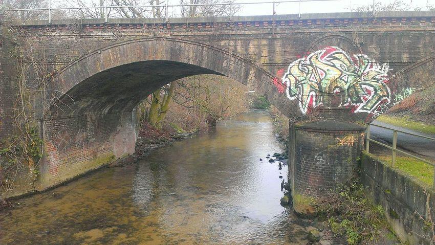 Reflection Water Day No People Wet Outdoors Rainy Season Close-up Graffiti Weekend Activities Theme Berkel