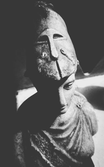 Mini statue Mini Statue One Person Human Face Shadow Doll Face Human Body Part Mini Black Background Mini Figure Ancient Monument Ancient Figure Blackandwhite
