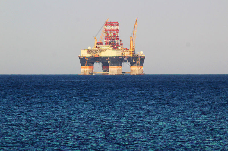 Chemistart Architecture Built Structure Crude Oil Drilling Rig Fossil Fuel Fuel And Power Generation Horizon Over Water Industry Limassol Nature No People Offshore Platform Oil Oil Industry Outdoors Scenics - Nature Sea Sky Water Waterfront