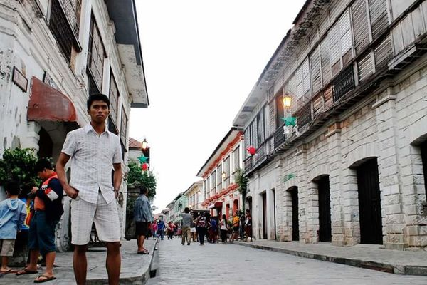 Vigan, Ilocos Sur Vintage Heritagebuilding Philippines First Eyeem Photo Tripodselfie