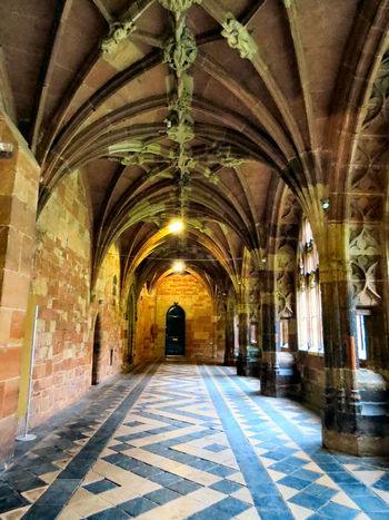No People Architecture Worcester Cathedral Worcester Cathedral Religion Cloister