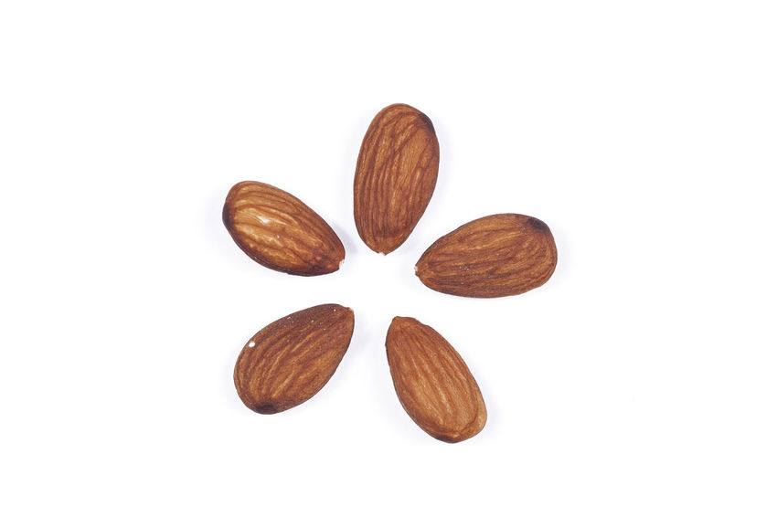 Almonds Close-up Delicacies Food Food And Drink Healthy Nuts Raisins Snack Studio Shot White Background
