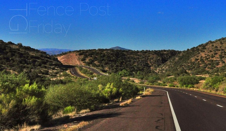 A happy TGI Fence Post Friday to one and all ... as I reflect back to the twisting and winding ... enjoying the Nature ... on the Open Road With My Friends That Connect
