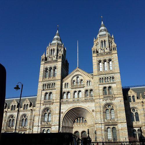 Nationalhistorymuseum London Architecture Bluesky