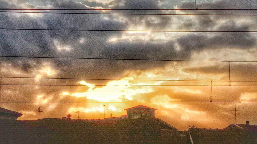 North Italy sunset