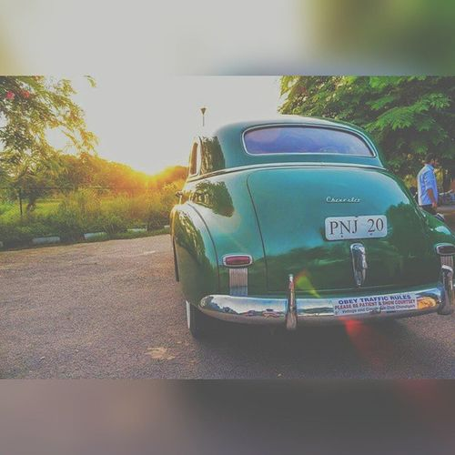 Chevrolet Fleetmaster Vintage Chandigarh Old Goldenhour Canon Vscocam Vccc