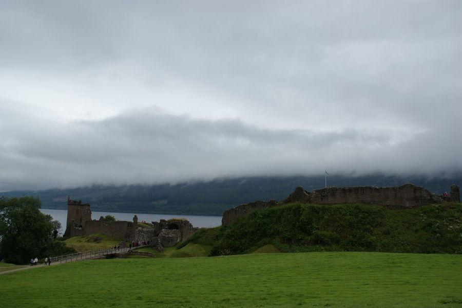 Loch Ness - Scotland Nessy Castle UrquhartCastle Lake Lakeshore