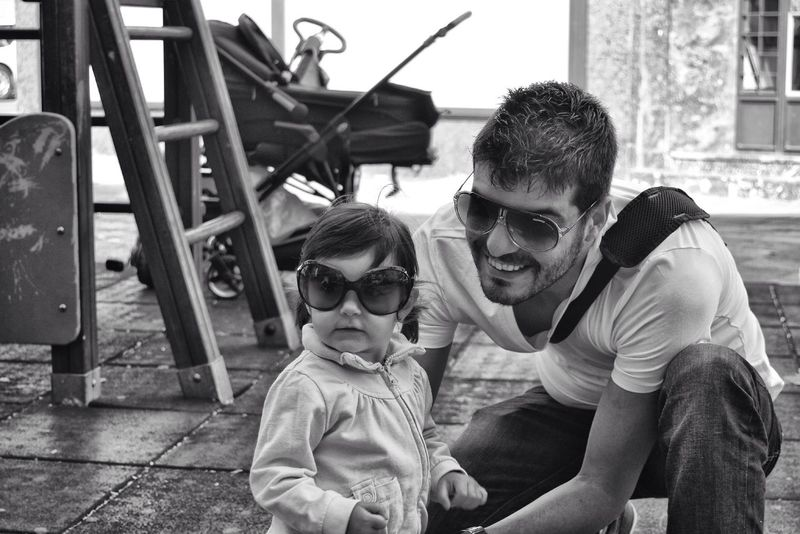 Father And Daughter Love First Eyeem Photo Blackandwhite