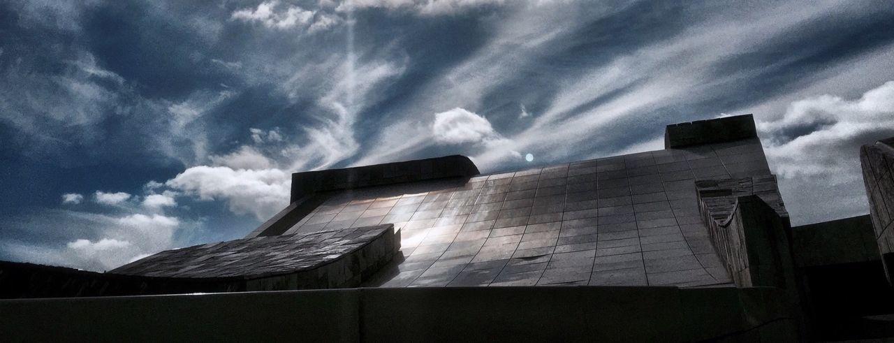Ciudad de la Cultura. Santiago Universodepequeñascosas SPAIN Clouds And Sky
