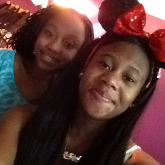 Early in the morning like this for me and lil cuz Minimouse Cousins  Smile Pretty Family Forever