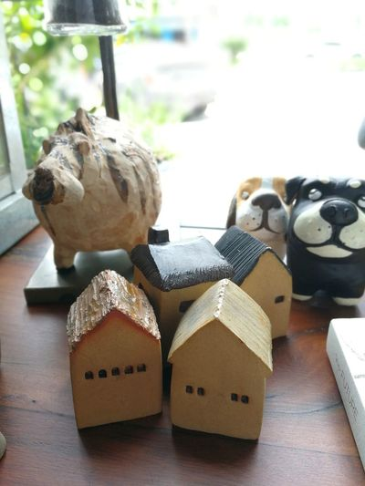 Caramic cute. Animal Themes Close-up Ceramic Ceramic Art Ceramic Art Craft Dogs Ceramic Shop in Pathum Thani ,Thailand