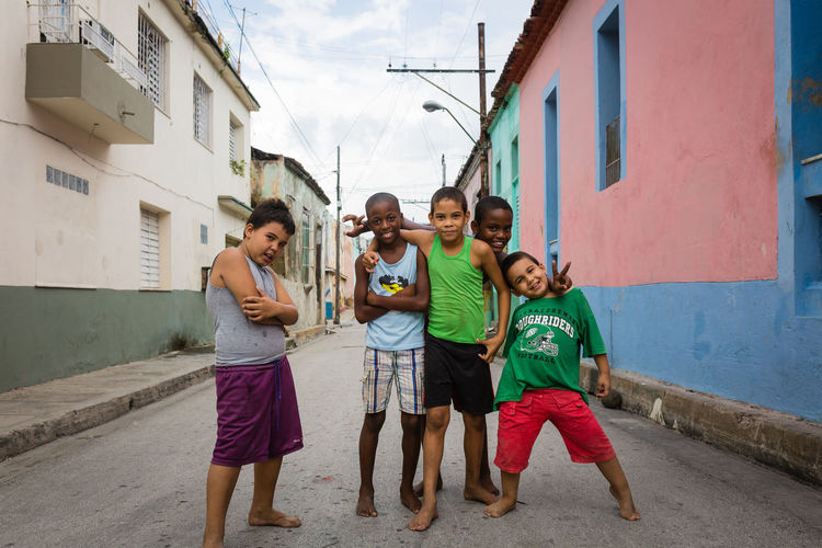Boyband Cuba Cuba Collection Kids Kids Being Kids Sigma Travel Boys Boys Will Be Boys Built Structure Canon Canonphotography Carribean Child Childhood Group Of People Happiness Males  Outdoors Posing Santiago De Cuba Smiling Street Streetphotography Togetherness Travel Destinations