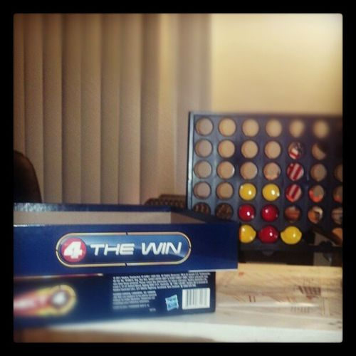 Good old classic game of Connect 4 with the hubby...Lovetheclassics