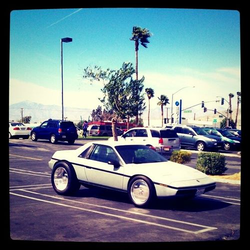 Yes!! That is a Pontiac Fiero. Car Of The Day Vintage Cars Classic Car