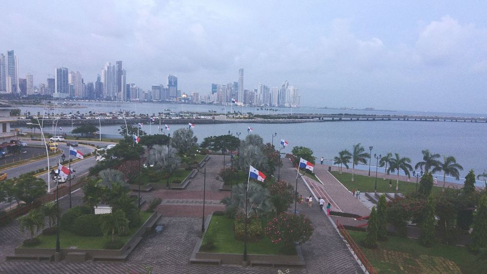 Battle Of The Cities Panama City. Panamá Flags Street Buildings Sea City City Life Cityscapes Lost In The Landscape Perspectives On Nature