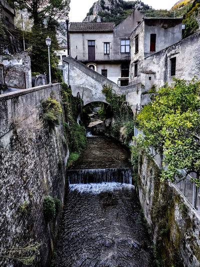 Vallone dei mulini Mill Old Old Ruin Nature Nature_collection Nature Photography Oldtown Streetphotography Coast Italy Amalfi Coast Landscape Discovery Travel Destinations Tree Water Architecture Building Exterior Built Structure Sky Building Historic Discarded Exterior Location Place