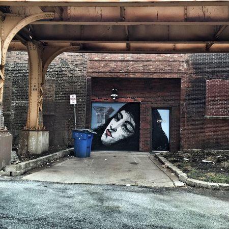 Chicago Streetphotography Graffiti