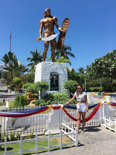 Lapu-lapu Shrine in Lapu-Lapu City Mactan Cebu Philippines