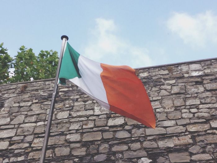 Ireland Orange Green White