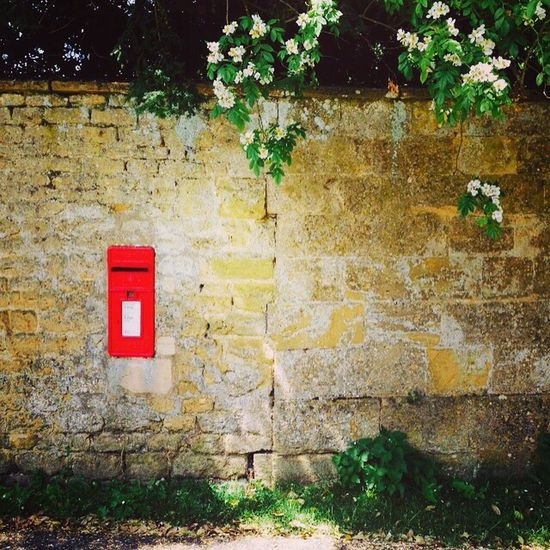 Random Random Pictures Wall Textures Nature Photography England Countryside Red Post Box