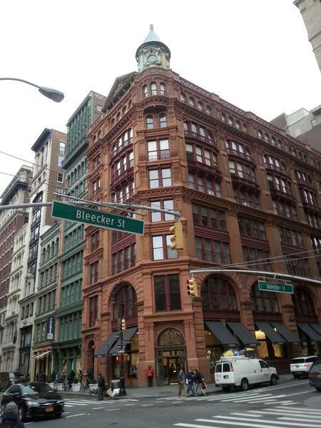Bleeker Street Manhattan Old Buildings