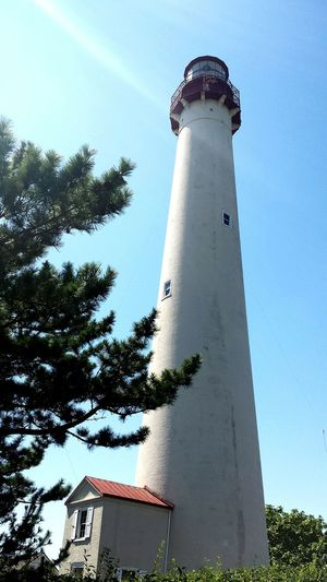 Lighthouse Cape May Lighthouse Sunlight And Shadow Beautiful Lighthouse_lovers EyeEm New Jersey Check This Out Enjoying The Sun Historic Cape May, NJ