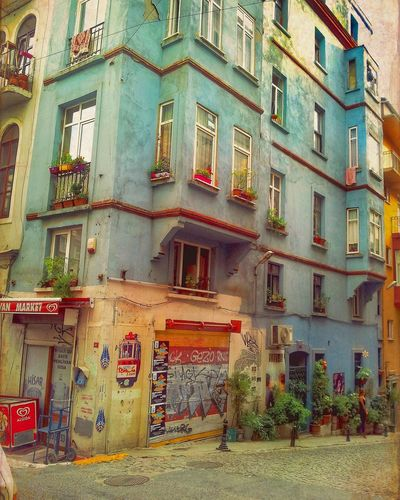Building Exterior Istanbul Istanbul City Architecture City
