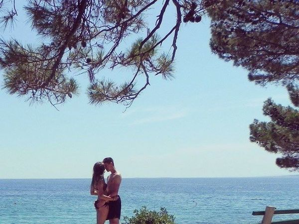 Croatia with you 😊😍. Couple Coratia Beach