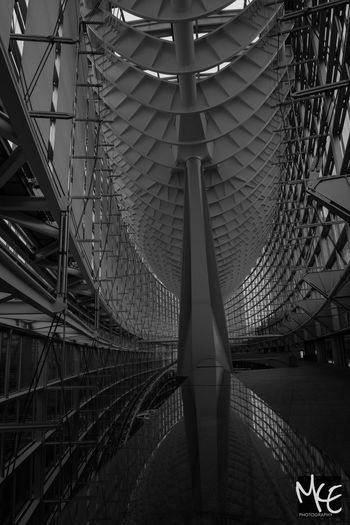Architecture Built Structure No People Japan Tokyo Blackandwhite