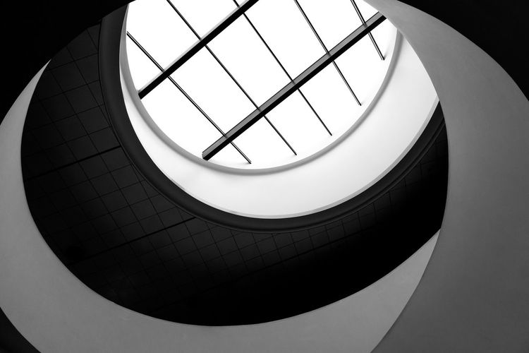 The Architect - 2017 EyeEm Awards Black & White Black And White Blackandwhite Photography Building Exterior Close-up Geometric Architecture Geometric Shapes Geometry Indoors  Low Angle View Minimal Minimalism Minimalism_bw Minimalist Minimalist Architecture Minimalist Photography  Minimalistic Minimalobsession Modern No People Swirl Black And White Friday The Graphic City